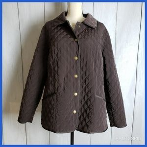 Lane Bryant Quilted Jacket